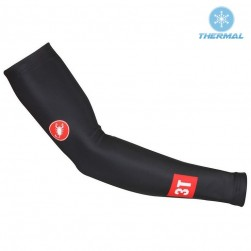 2017 Cаstelli 3T Black Thermal Cycling Arm Warmer