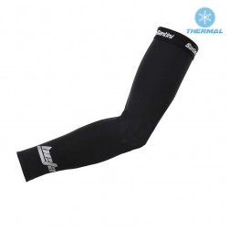 2017 Santini Beta Black Thermal Cycling Arm Warmer
