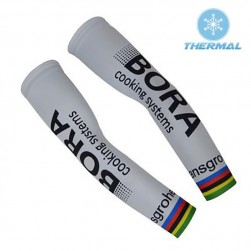 2017 Bora World Champion White Thermal Cycling Arm Warmer