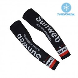 2017 Giant Sunweb Black Thermal Cycling Arm Warmer