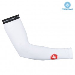 2017 Cаstelli SP White Thermal Cycling Arm Warmer