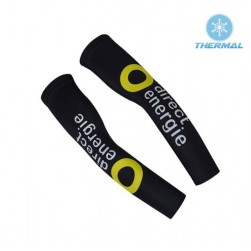 2017 Direct Energie Black Thermal Cycling Arm Warmer