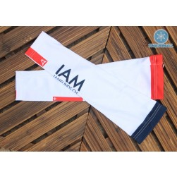2017 IAM White Thermal Cycling Arm Warmer