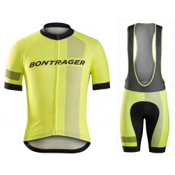 2016 Bontrager Specter Yellow Cycling Jersey And Bib Shorts Set
