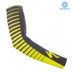 2017 SPED SZK Yellow Thermal Cycling Arm Warmer