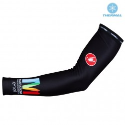2017 Cаstelli Maratona Black Thermal Cycling Arm Warmer