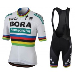 2018 Team Bora Hansgrohe World Champion Cycling Jersey And Bib Shorts Set