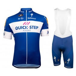 2018 Quick Step Team Cycling Jersey And Bib Shorts Set