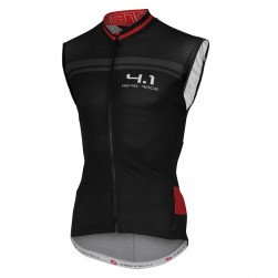 2016 Cаstelli Aero Race 4.1 Black-Red Cycle Vest