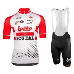 2019 Lotto Soudal Team Cycling Jersey And Bib Shorts Set