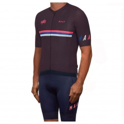 2019 MAAP Nationals Mulberry Cycling Jersey And Bib Shorts Set