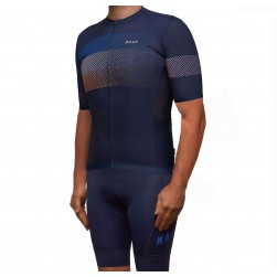 2019 MAAP Aether Navy Cycling Jersey And Bib Shorts Set