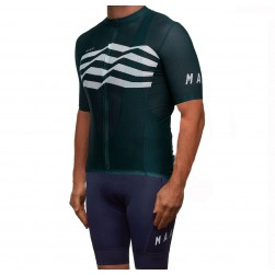 2019 MAAP M-Flag Ultra Green Cycling Jersey And Bib Shorts Set