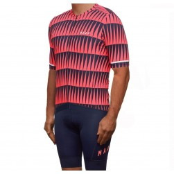 2019 MAAP Rapid Coral Cycling Jersey And Bib Shorts Set