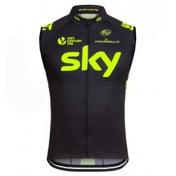 2016 Skу Team Fluo Edition Cycle Vest