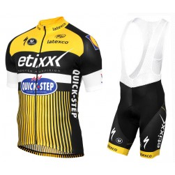 2016 Etixx-Quick Step TDF Edition Yellow Cycling Jersey And Bib Shorts Set c7629c74c