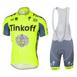 2016 Tinkoff Team TDF Edition Cycling Jersey And Bib Shorts Set