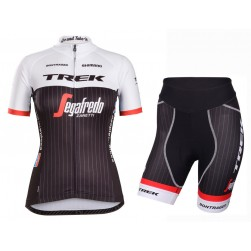2016 Team Trek Segafredo RSL TDF Edition Women's Cycling Jersey And Regular Shorts Set