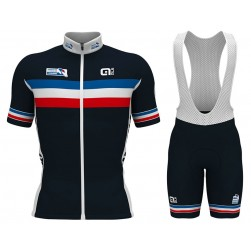 2017 French National Team Cycling Jersey And Bib Shorts Set