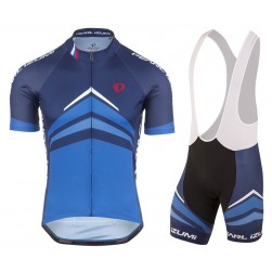 2017 Pearl Izumi Elite Pursuit Blue Cycling Jersey And Bib Shorts Set