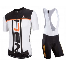 2017 Nalini PRO Speed White Cycling Jersey And Bib Shorts Set