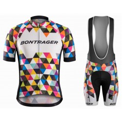 2016 Bontrager Specter Colorful Cycling Jersey And Bib Shorts Set