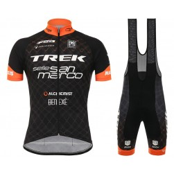 2017 Trek Selle San Marco Cycling Jersey And Bib Shorts Set