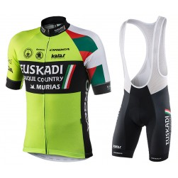 2017 Euskadi Cycling Jersey And Bib Shorts Set