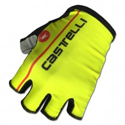 2017 Cаstelli Fluo Yellow Gloves