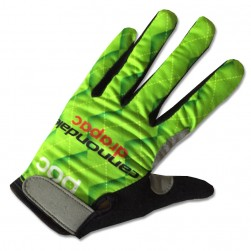 2017 Cannondale Drapac Green Thermal Long Gloves