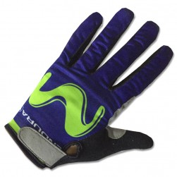 2017 Movistar Thermal Long Gloves