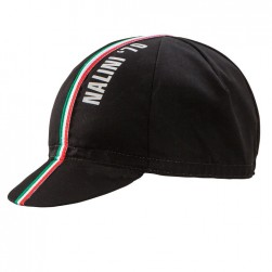 2017 Nalini Italian Black Cycling Cap