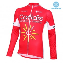 2016 Cofidis Team Thermal Cycling Long Sleeve Jersey