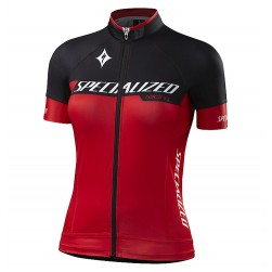 2017 Sped Racing Women's Black-Red Cycling Jersey