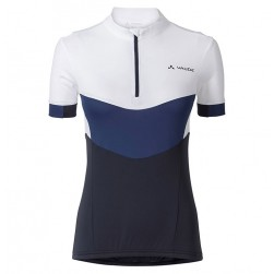 2017 Vaude Advanced II Women's White-Blue Cycling Jersey