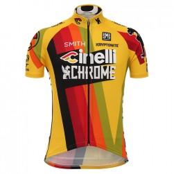2017 Cinelli Chrome Yellow Cycling Jersey