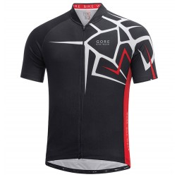 2017 Gore Element Adrenaline 4.0 Black-Red Cycling Jersey