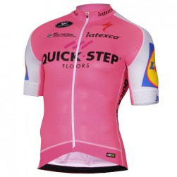 2017 Quick-Step Floors Pink Cycling Jersey
