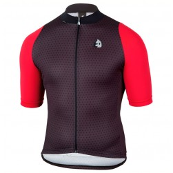 2017 Etxeondo NEO Black-Red Cycling Jersey
