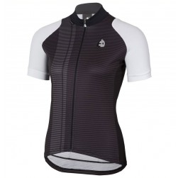 2017 Etxeondo Nero Black-White Cycling Jersey