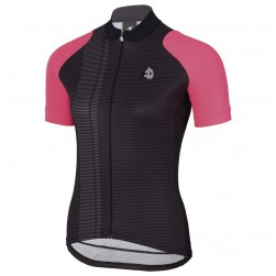 2017 Etxeondo Nero Black-Pink Cycling Jersey