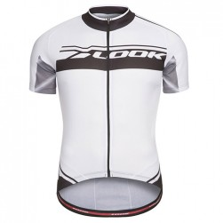2017 Look Pro Team Black-White Cycling Jersey