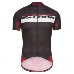 2017 Look Pro Team Black-Red Cycling Jersey