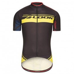 2017 Look Pro Team Black-Yellow Cycling Jersey