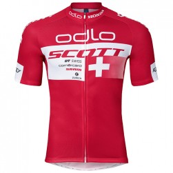 2017 Scott-Odlo Swiss Red Cycling Jersey