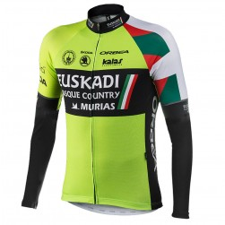 2017 Euskadi Kalas  Long Sleeve Cycling Jersey