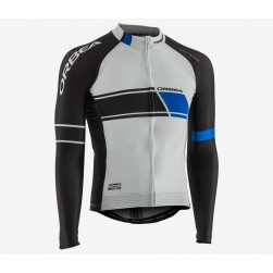 2017 Orbea Team White Long Sleeve Cycling Jersey