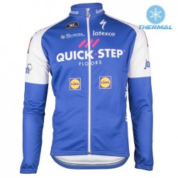 2017 Quick-Step Floors Thermal Long Sleeve Cycling Jersey