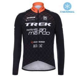 2017 Trek Selle San Marco Thermal Long Sleeve Cycling Jersey