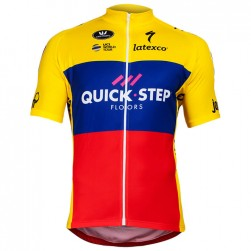 2018 Quick Step Ecuador Champion Cycling Jersey